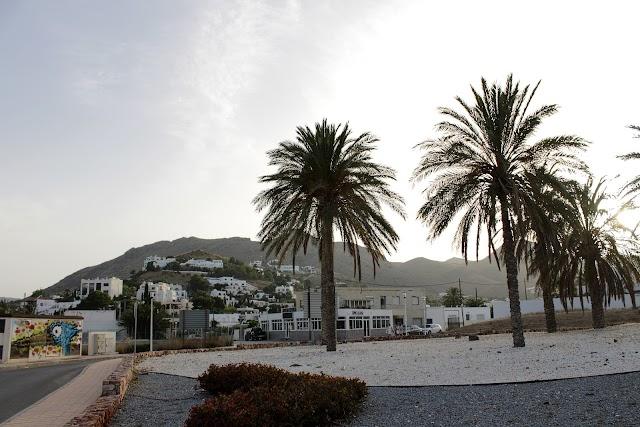 Una de las zonas residenciales y turísticas de Las Negras.