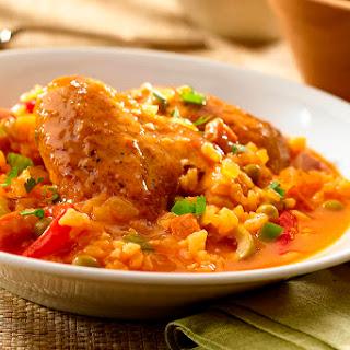 Asopao de Pollo - Chicken Rice Gumbo.