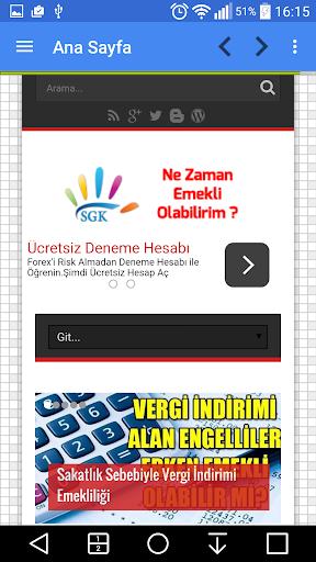 玩免費新聞APP|下載Emeklilik - Sgk - Ssk Sorgula app不用錢|硬是要APP