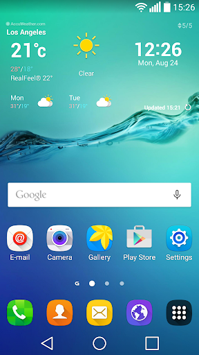 Edge+ Theme for LG Home