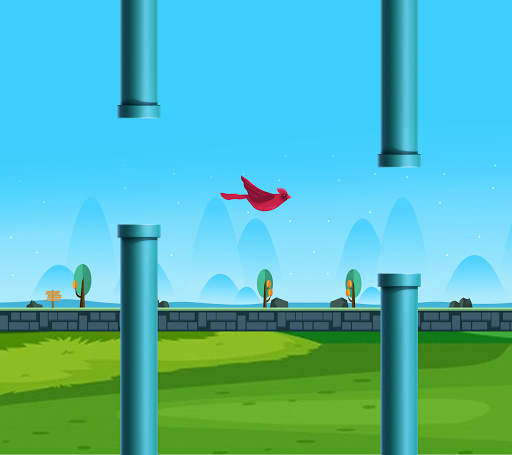 Flappy Wings: The Funny Flying Bird Game apkdebit screenshots 1