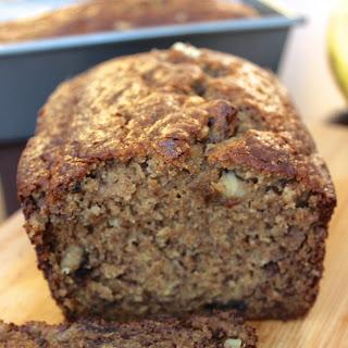 Healthier Banana Walnut Bread