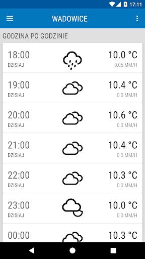 Weather ICM u2014 the best forecast for Europe 1.5.5 screenshots 3