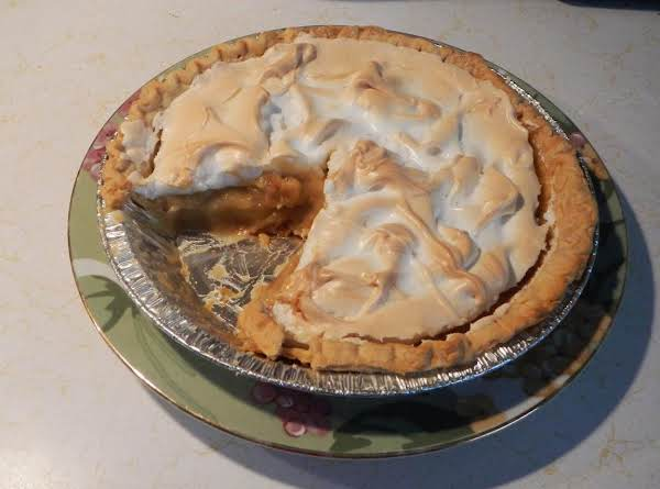 Maple Syrup Meringue Pie, From Canada!