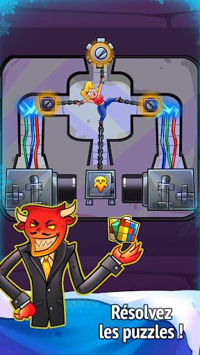 Code Triche Idle Evil Clicker: jeu de Noël  APK MOD (Astuce) screenshots 4