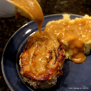 Pan Seared Oven Roasted Thick Cut Pork Chops