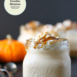 No-Bake Mason Jar Pumpkin Cheesecake #FoodieMamas