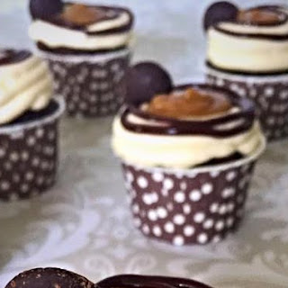 Rolo Inspired Cupcakes