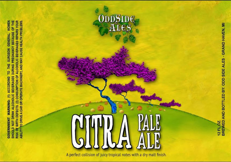 Logo of OddSide Ales Citra Pale Ale