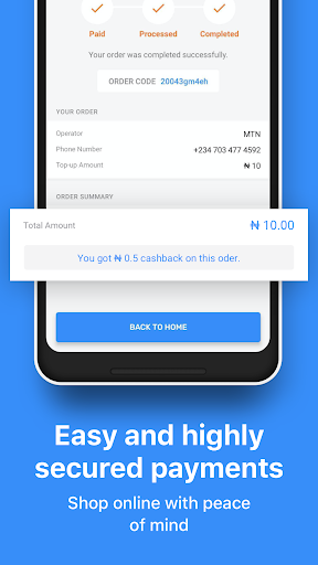 JumiaPay (formerly Jumia One) - Airtime & Bills 3.7.1 screenshots 5
