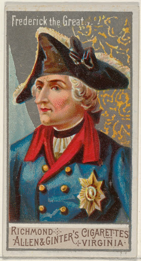 Frederick the Great, from the Great Generals series (N15) for Allen & Ginter Cigarettes Brands