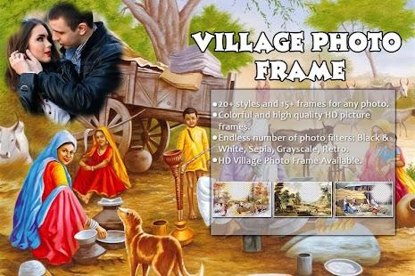Village Photo Frame : Village Photo Editor - náhled