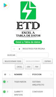 Download Tutorial: Excel a Tabla de Datos For PC Windows and Mac apk screenshot 4