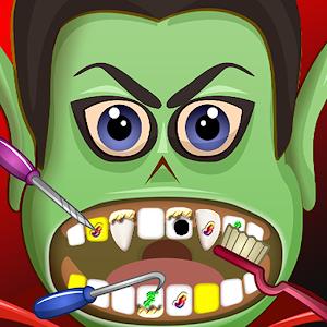 Crazy Halloween Dentist Office