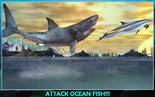 Angry Sea White Shark Revenge- screenshot thumbnail