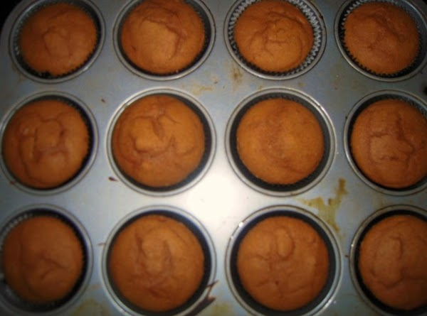 Bake cupcakes about 18-20 minutes until toothpick inserted into cupcake comes out clean.Let cupcakes...
