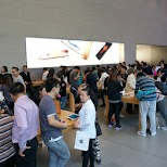 inside the Apple Store in Shanghai in Shanghai, Shanghai, China