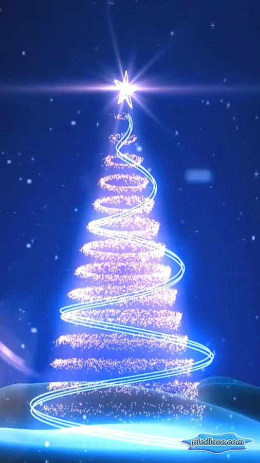 Xmas Tree Glitter Star 3D- screenshot