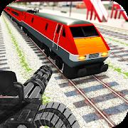 Train Gunship Battle 3D: Bullet Gun Shooting Games