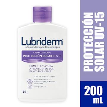 Crema LUBRIDERM Protección