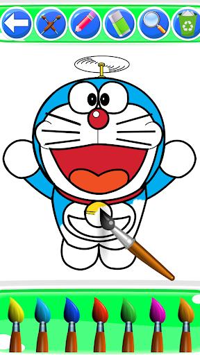 Superhero Nobita Coloring Pages For Kids screenshot 2