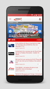 Univers Freebox- screenshot thumbnail