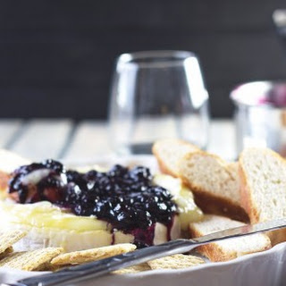 Blueberry Baked Brie