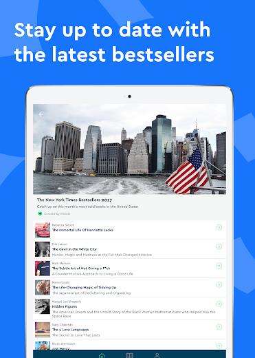 Screenshot 9 for Blinkist's Android app'