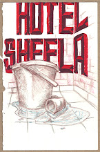 Photo: In Agra we stayed at a small cheap place called Hotel Sheela -- they were so nice there if you went to the front office and put in a request they would even bring you a bucket a few minutes later filled with hot water that you could use to shower!