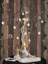 Photo: Mooie kerstdecoraties had Rina ook in De Deel staan