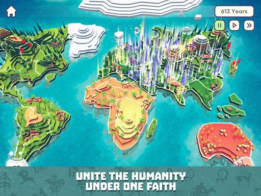 God Simulator. Sandbox strategy game Religion Inc. apkpoly screenshots 21