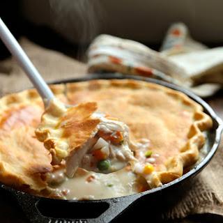 30 Minute Skillet Chicken Pot Pie