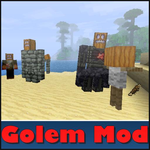 Golems Mod For Minecraft 2