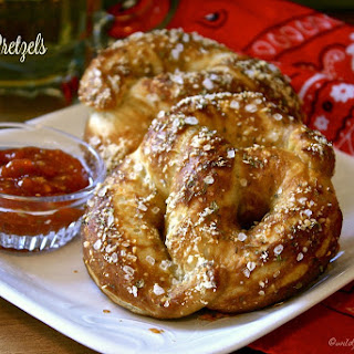 Soft Pizza Pretzels