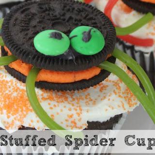 Oreo Stuffed Spider Cupcakes | Fun For Halloween!