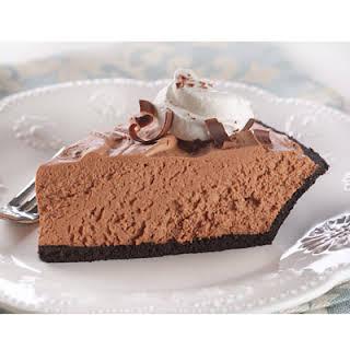 Chocolate Velvet Pie.