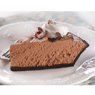 Chocolate Velvet Pie.