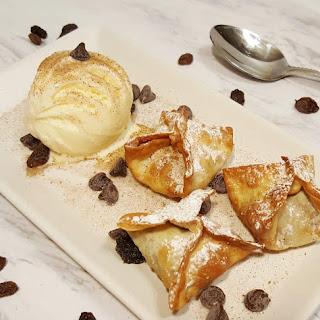Air Fryer Peanut Butter Banana Dessert Bites Recipe