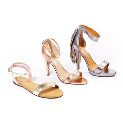 3 metallic sandals we love