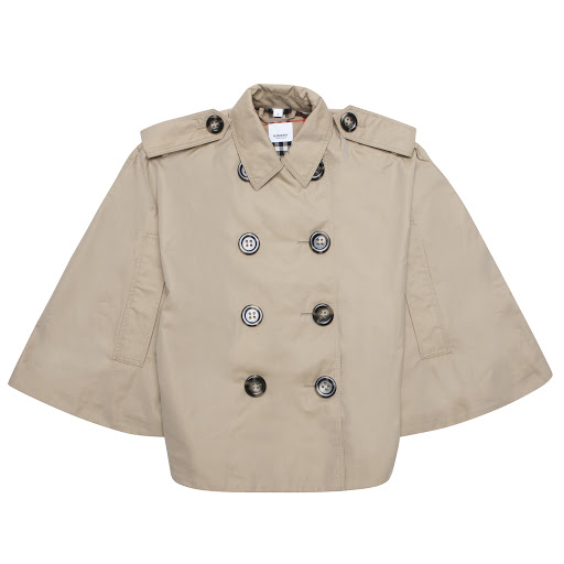 Thumbnail images of Burberry Double Breasted Cape