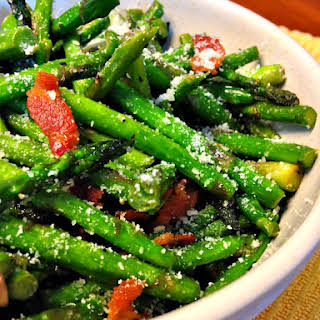 Bacon Parmesan Asparagus.