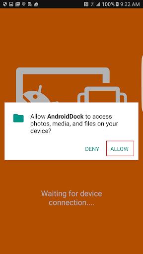 JUD650 - Android Dock screenshot 3