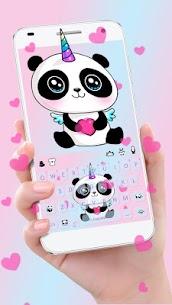 Cute Panda Keyboard Theme 1