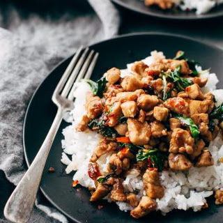 Garlic Lovers Thai Basil Chicken Recipe