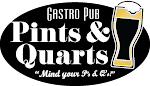 Logo of Pints And Quarts Gastro Pub House Hazelnut Brown