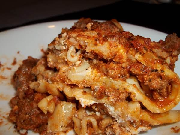 Lasagna (sallye) Recipe
