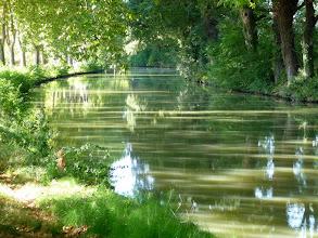 Photo: le canal est tout rayé, il faut en changer ...