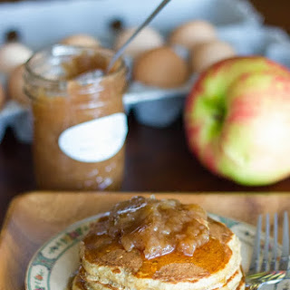 Apple Butter Pancakes.