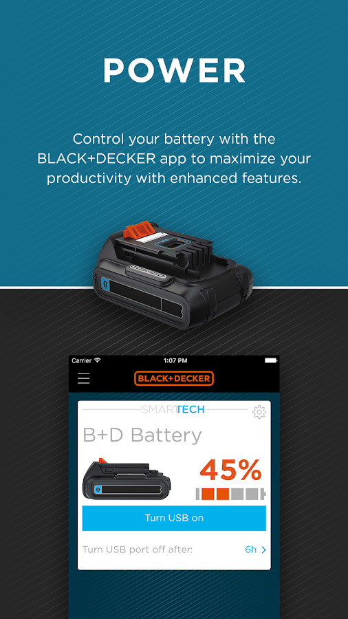 BLACK+DECKER- screenshot