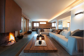 A Sun Drenched Luxury Chalet in the Alps in verbier